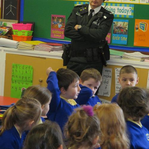 děti a policista