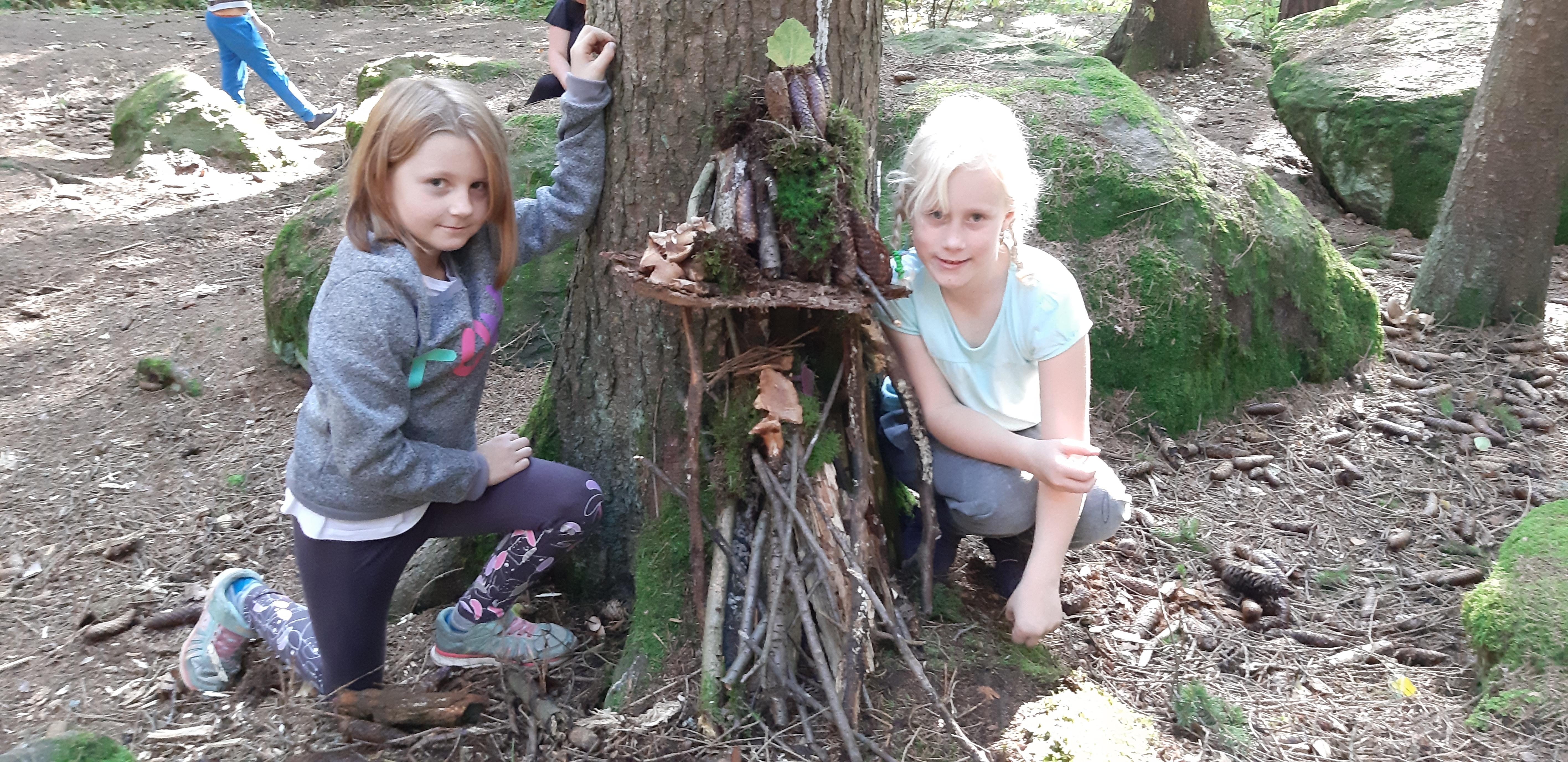 Školní družina vlese:)