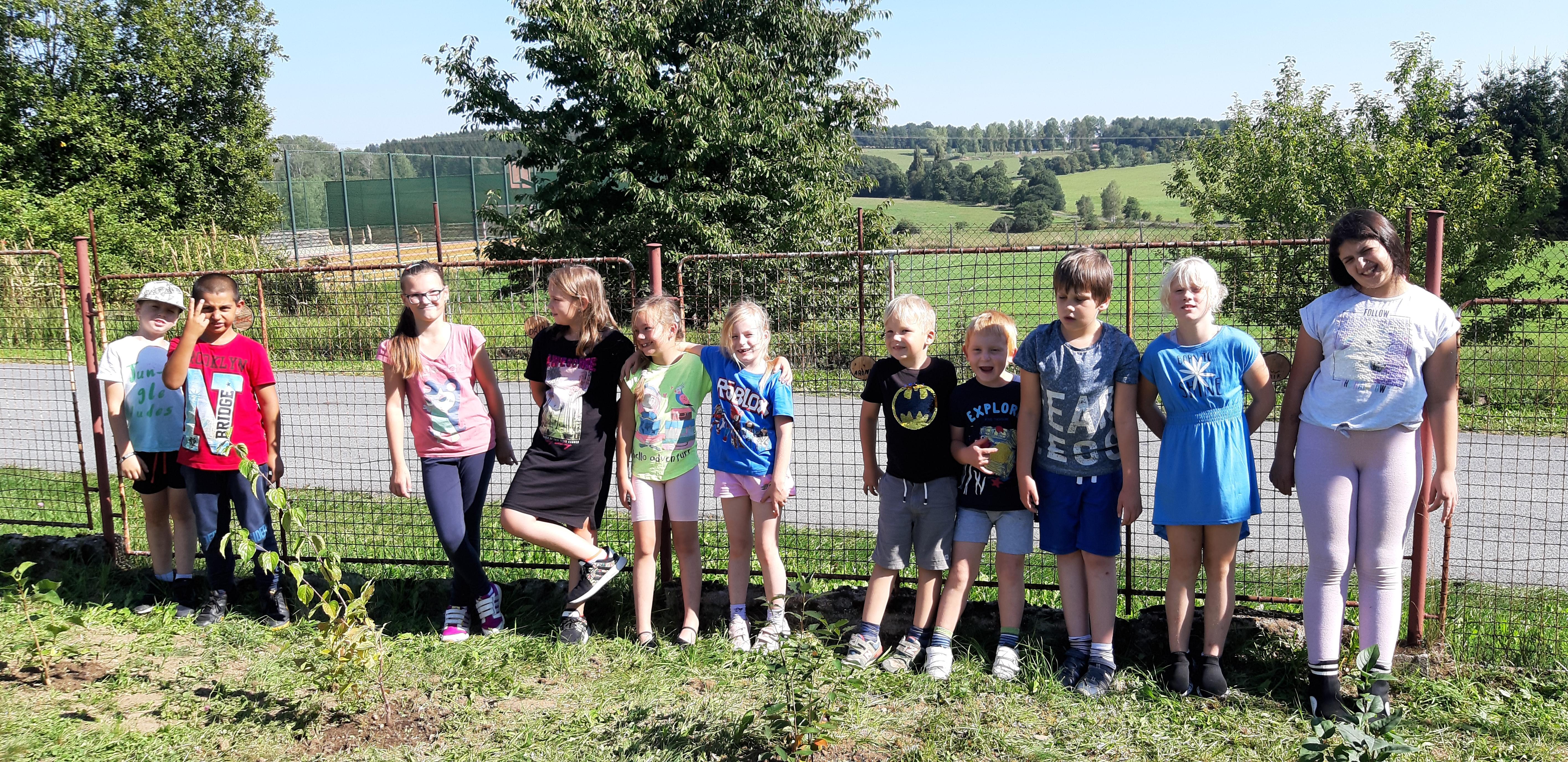 Projektový den – Naše školní zahrada